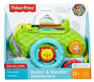 Fisher Price Rollin' & Strollin' Dashboard Activity Toy